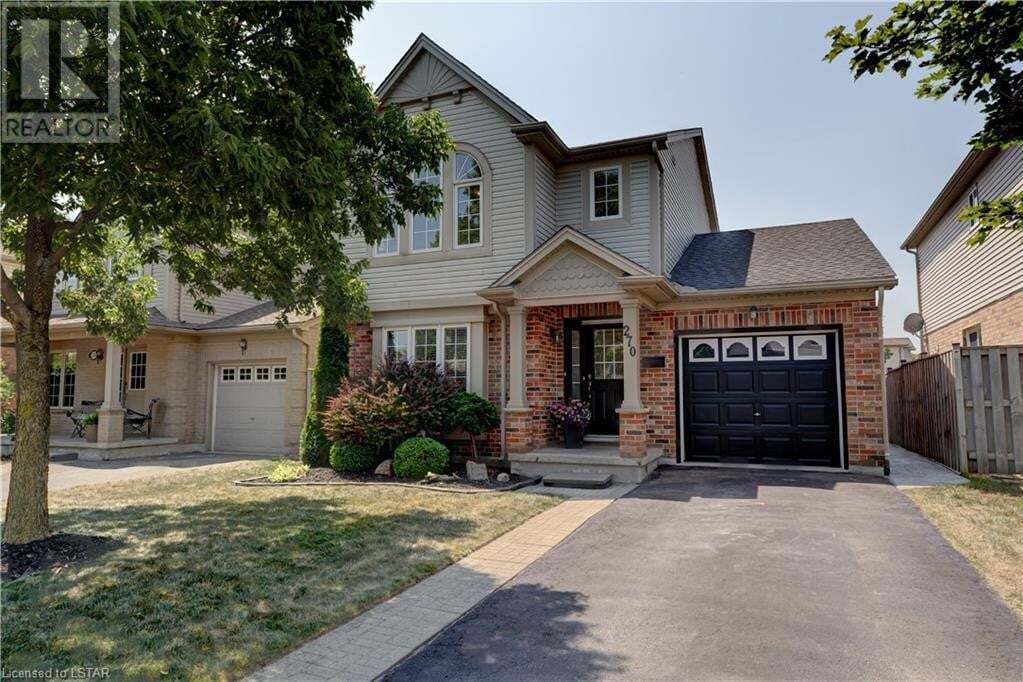 House for sale at 270 South Leaksdale Circ London Ontario - MLS: 273294