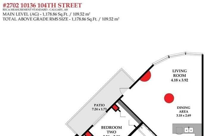 Condo for sale at 10136 104 St NW Unit 2702 Edmonton Alberta - MLS: E4214787