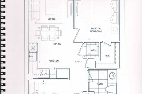 Residential property for sale at 3600 Highway 7 Rd Unit 2703 Vaughan Ontario - MLS: N4375650