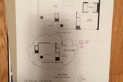 Condo for sale at 88 Scott St Unit 2707 Toronto Ontario - MLS: C4646752