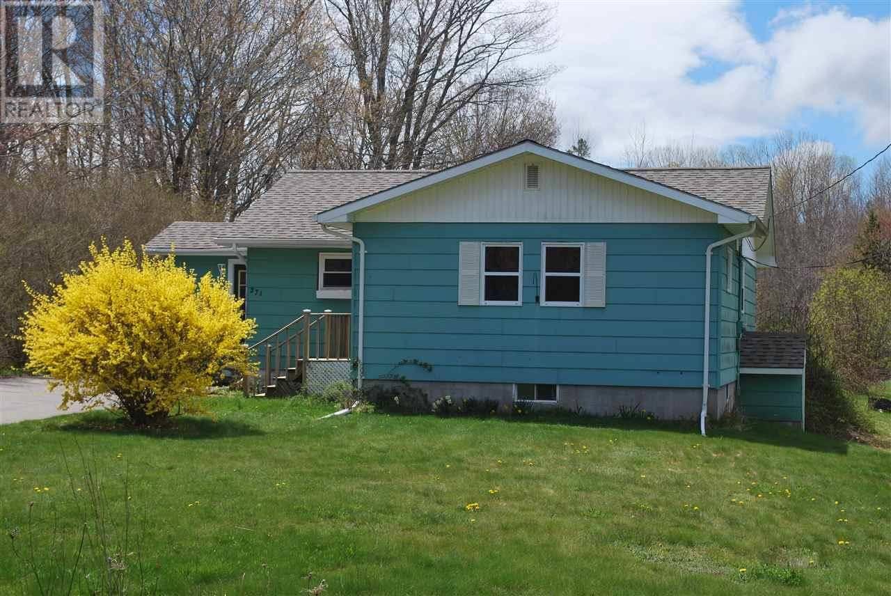 House for sale at 271 Dodge Rd Wilmot Nova Scotia - MLS: 201911200