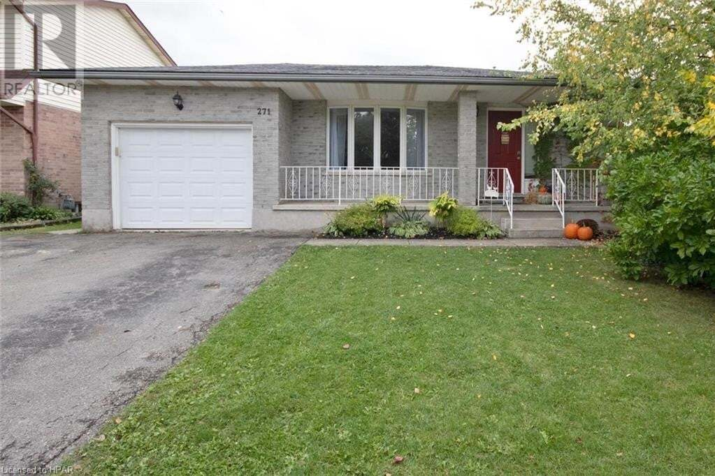 House for sale at 271 Greenwood Dr Stratford Ontario - MLS: 40030448