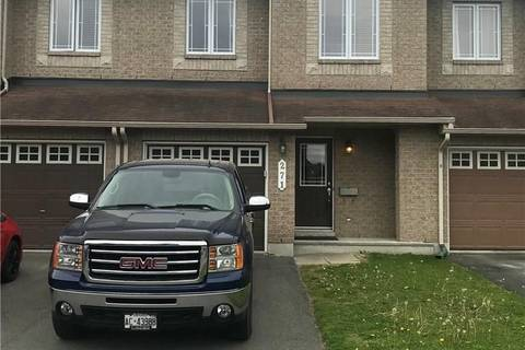 Townhouse for rent at 271 Montmorency Wy Ottawa Ontario - MLS: 1155279