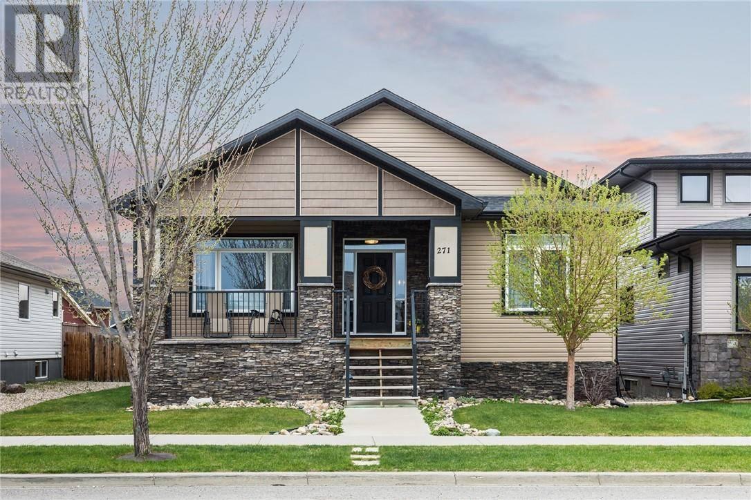House for sale at 271 Riverstone Blvd W Lethbridge Alberta - MLS: ld0190517