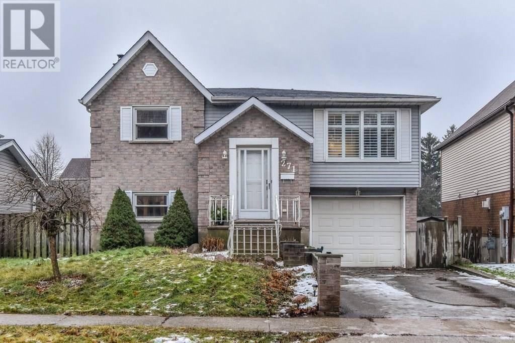 House for sale at 271 Sekura St Cambridge Ontario - MLS: 30781493