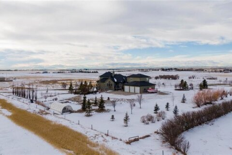 House for sale at 271040 Rge Rd 285  Rural Rocky View County Alberta - MLS: A1040773