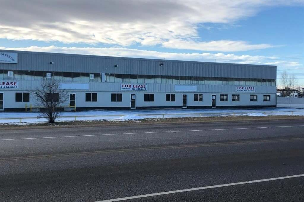 Commercial property for lease at 27123 Highway 597  Blackfalds Alberta - MLS: CA0188589