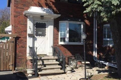 Townhouse for sale at 272 Laird Dr Toronto Ontario - MLS: C4733976