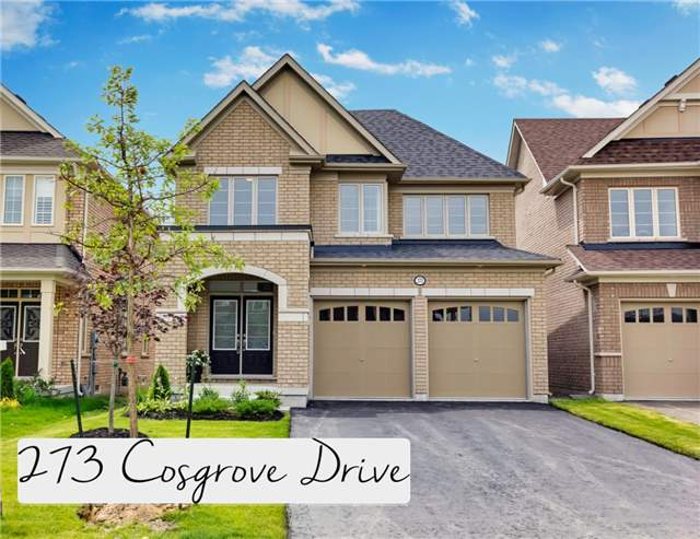 Sold: 273 Cosgrove Drive, Oshawa, ON