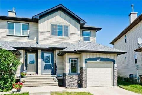 Townhouse for sale at 273 Luxstone Wy Southwest Airdrie Alberta - MLS: C4306179