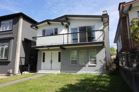 House for sale at 2731 8th Ave E Vancouver British Columbia - MLS: R2389889
