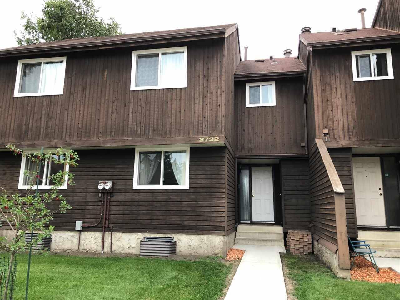 Townhouse for sale at 2732 105 St Nw Edmonton Alberta - MLS: E4167380