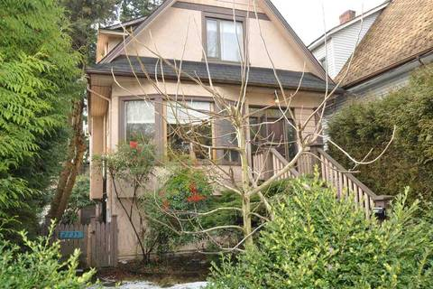 Townhouse for sale at 2737 Woodland Dr Unit 2735-2737 Vancouver British Columbia - MLS: R2349687