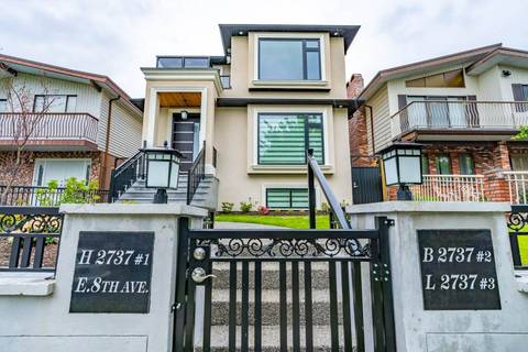 House for sale at 2737 8th Ave E Vancouver British Columbia - MLS: R2359699