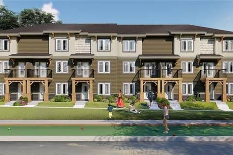Townhouse for sale at 274 Auburn Meadows Manr Southeast Unit 274 Calgary Alberta - MLS: C4264170