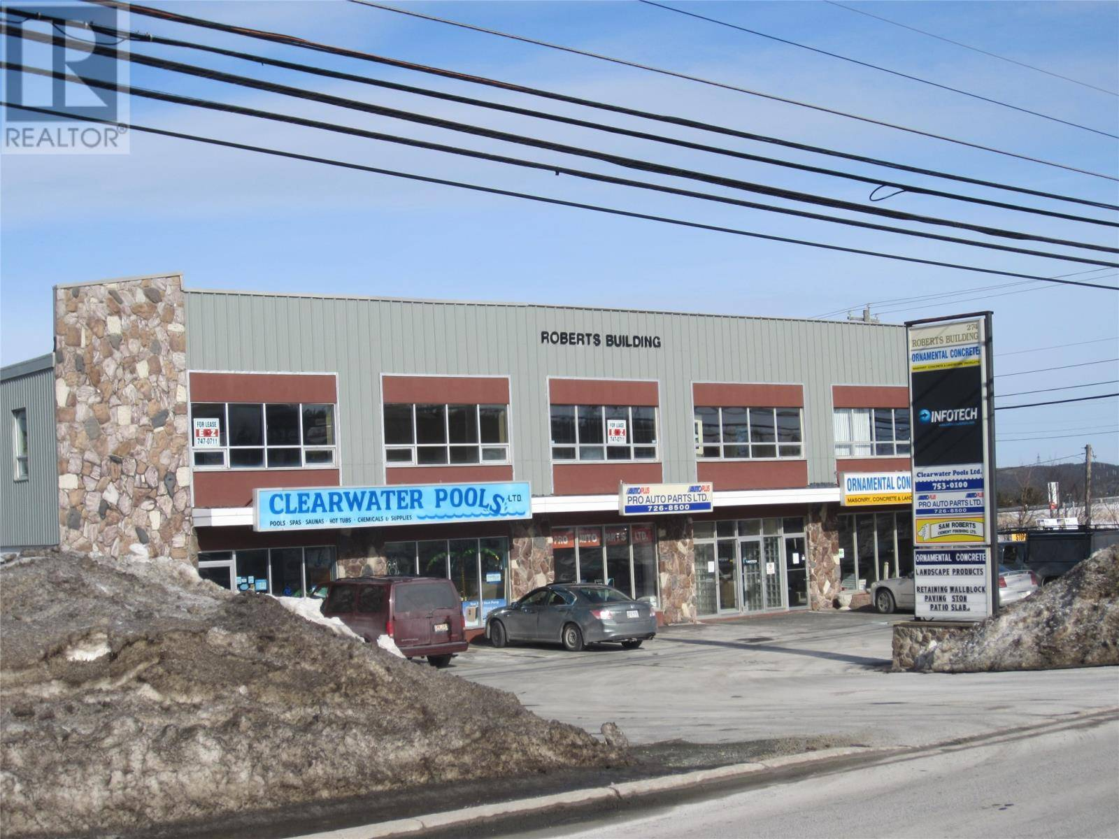 Commercial property for lease at 274 Kenmount Rd St. John's Newfoundland - MLS: 1209763