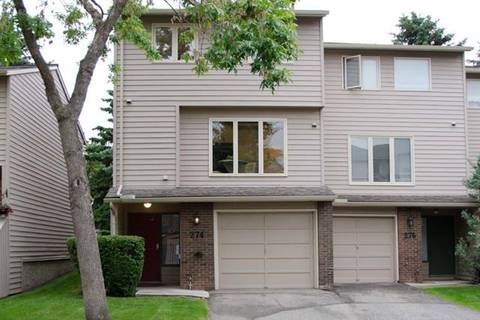 Townhouse for sale at 274 Point Mckay Te Northwest Calgary Alberta - MLS: C4256910