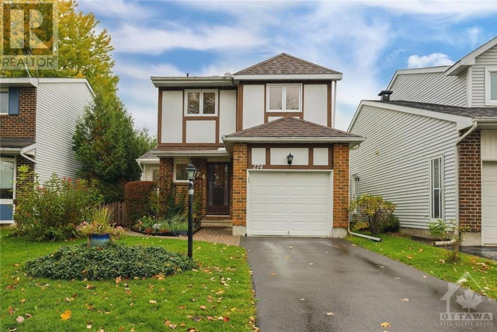 House for sale at 274 Turnstone Ct Ottawa Ontario - MLS: 1215068