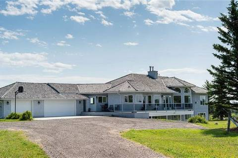 House for sale at 274156 16 St West Rural Foothills County Alberta - MLS: C4245554
