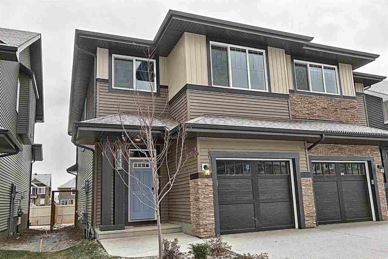 Townhouse for sale at 2743 Chokecherry Pl SW Edmonton Alberta - MLS: E4219539