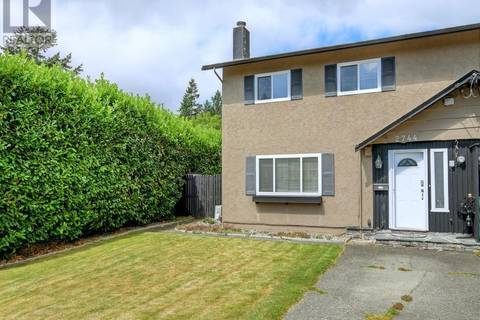 Townhouse for sale at 2744 Whitehead Pl Victoria British Columbia - MLS: 413294