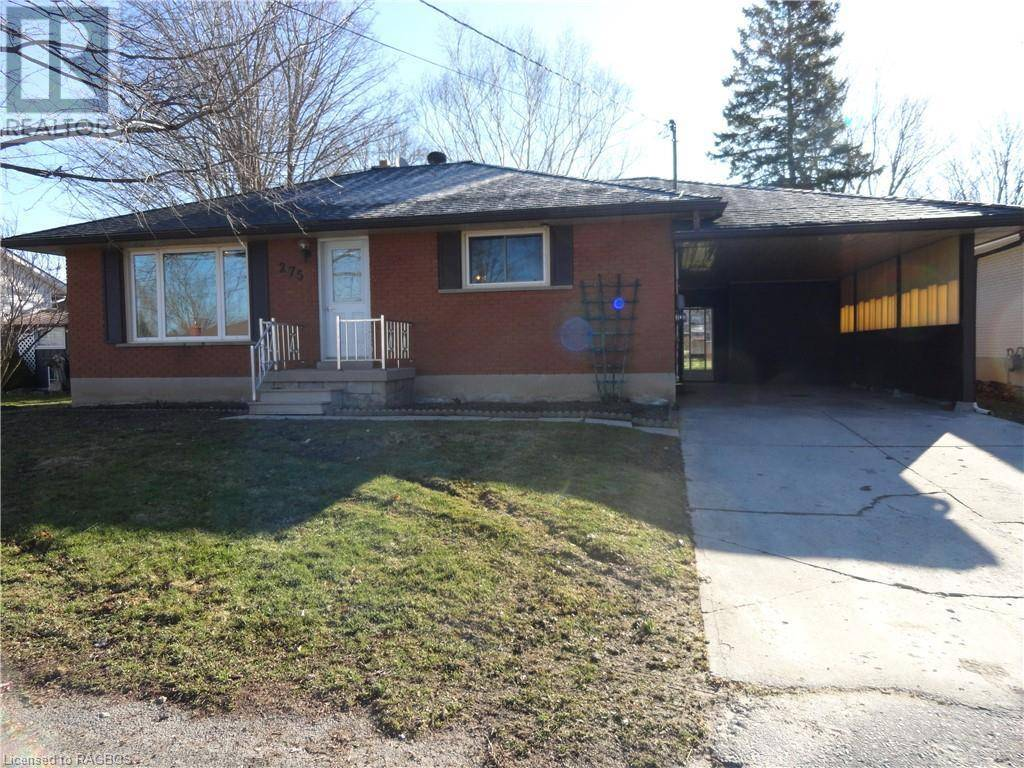 House for sale at 275 13th Ave Hanover Ontario - MLS: 253548