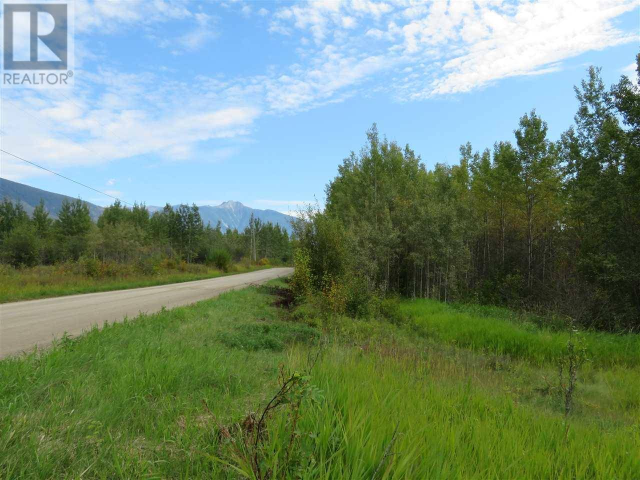Residential property for sale at 275 Horseshoe Lake Rd Mcbride British Columbia - MLS: R2400734