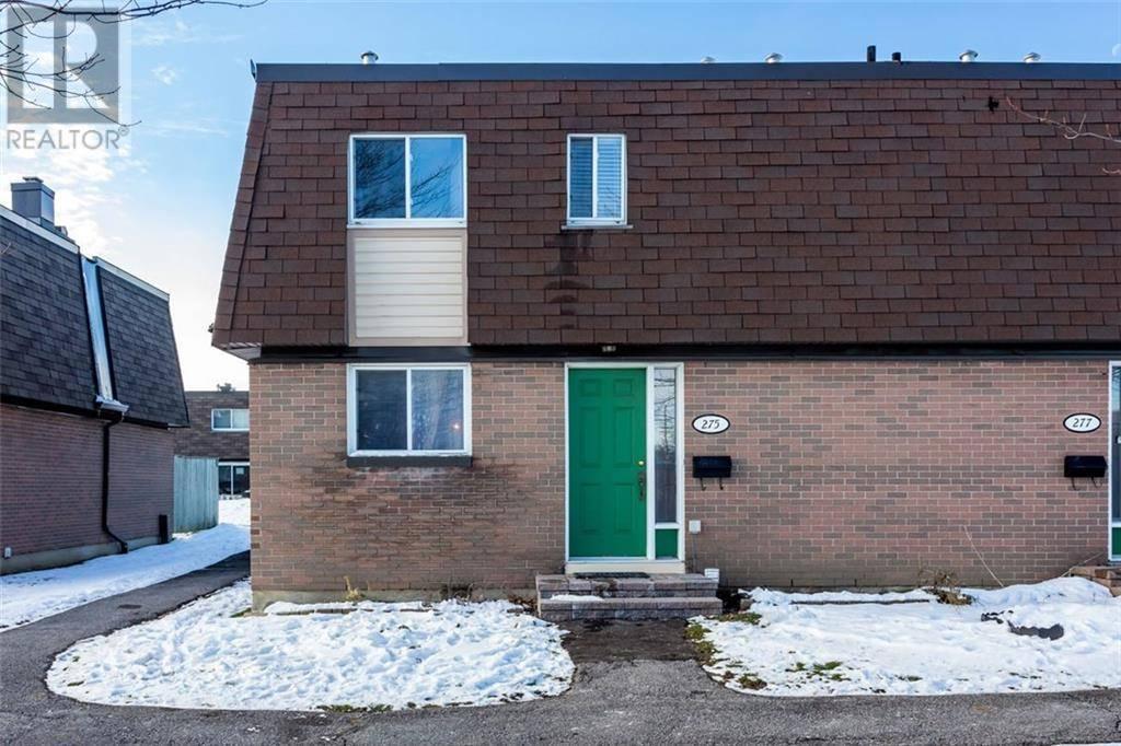 Townhouse for sale at 275 Ridgepark Pt Ottawa Ontario - MLS: 1175816