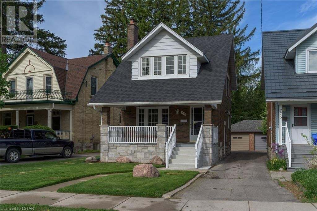 House for rent at 275 Ridout St S London Ontario - MLS: 262114