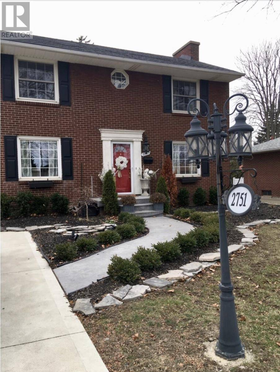 House for sale at 2751 Rockwell Blvd Windsor Ontario - MLS: 20003179
