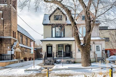 Townhouse for sale at 276 Concord Ave Toronto Ontario - MLS: C4714491