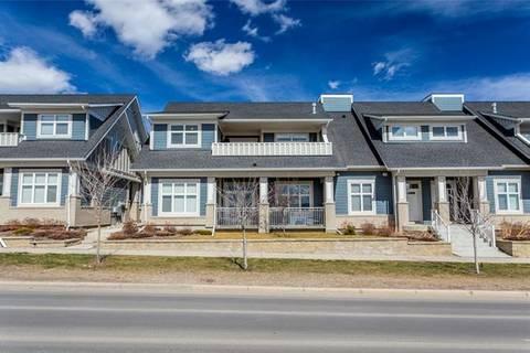 Townhouse for sale at 276 Silverado Plains Pk Southwest Calgary Alberta - MLS: C4279625