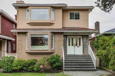 House for sale at 2761 23rd Ave W Vancouver British Columbia - MLS: R2305405