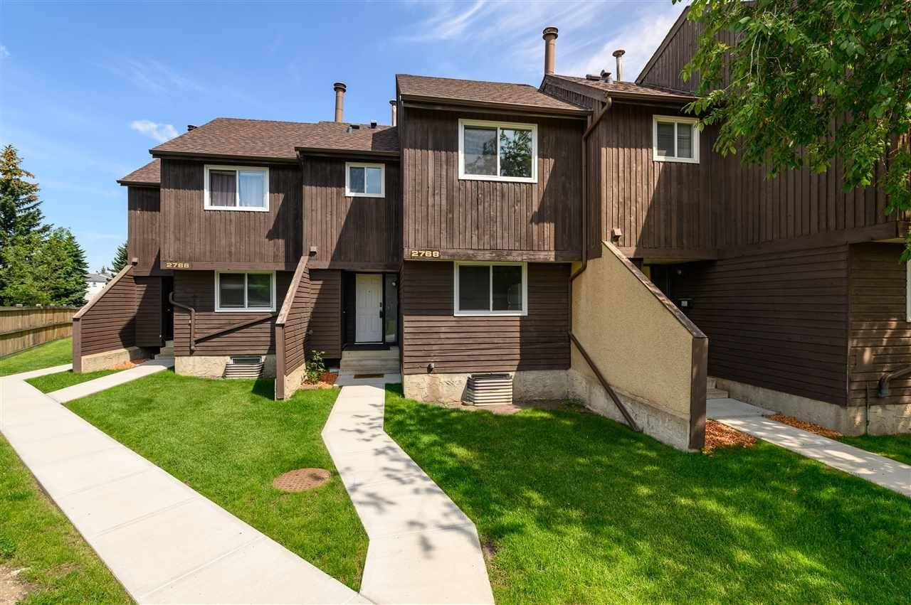 Townhouse for sale at 2768 105 St Nw Edmonton Alberta - MLS: E4168351