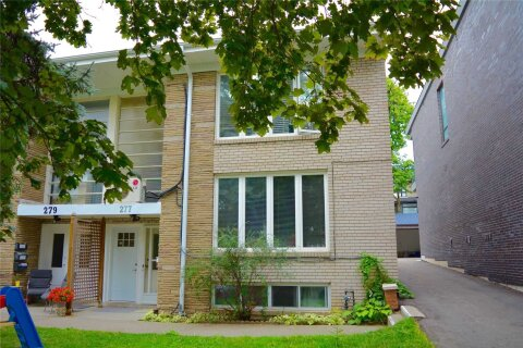 Townhouse for rent at 277 Glenforest Rd Toronto Ontario - MLS: C4887051