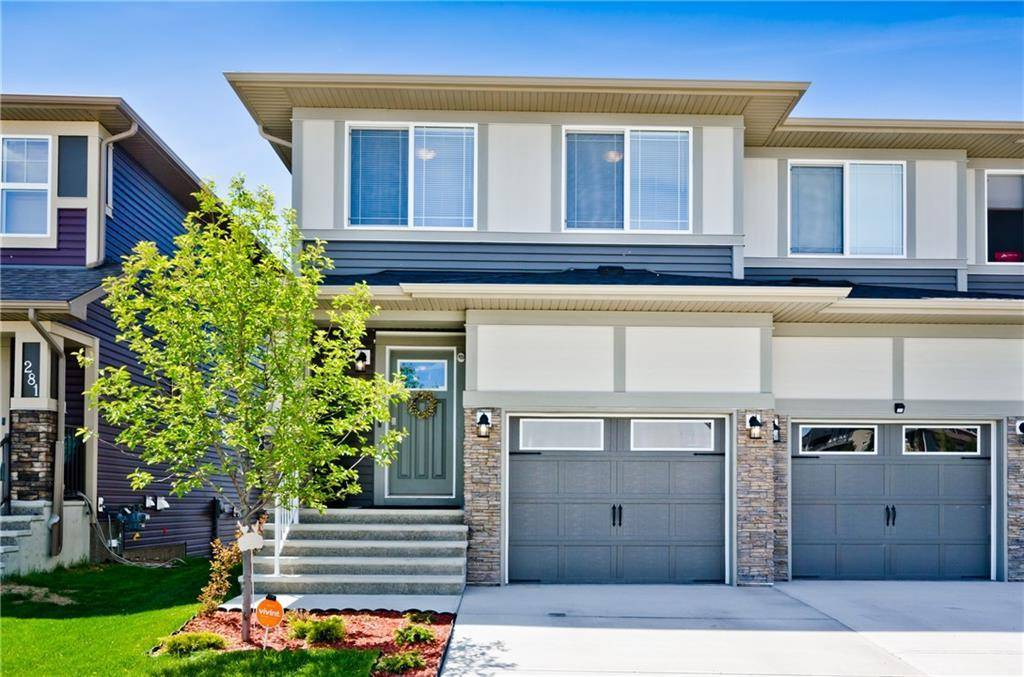 Townhouse for sale at 277 Hillcrest Rd Sw Hillcrest, Airdrie Alberta - MLS: C4264462