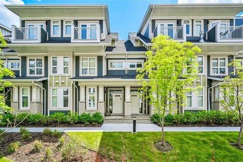 Townhouse for sale at 277 Silverado Plains Pk Southwest Calgary Alberta - MLS: C4243156