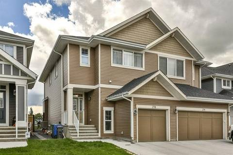 Townhouse for sale at 278 River Heights Cres Cochrane Alberta - MLS: C4264736