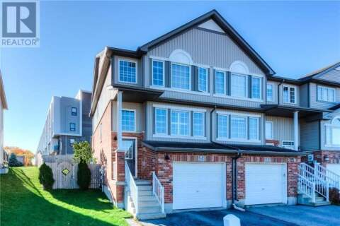 Townhouse for sale at 278 Westmeadow Dr Kitchener Ontario - MLS: 40033848