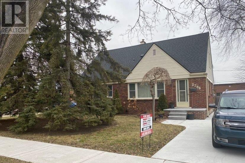 House for sale at 2786 Randolph Ave Windsor Ontario - MLS: 21000386