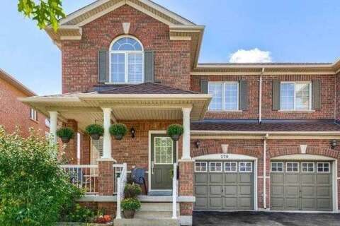 Townhouse for sale at 279 Fitzgerald Cres Milton Ontario - MLS: W4924694