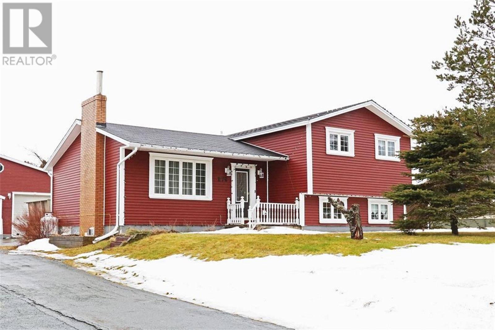 House for sale at 279 Indian Meal Line Torbay Newfoundland - MLS: 1211715