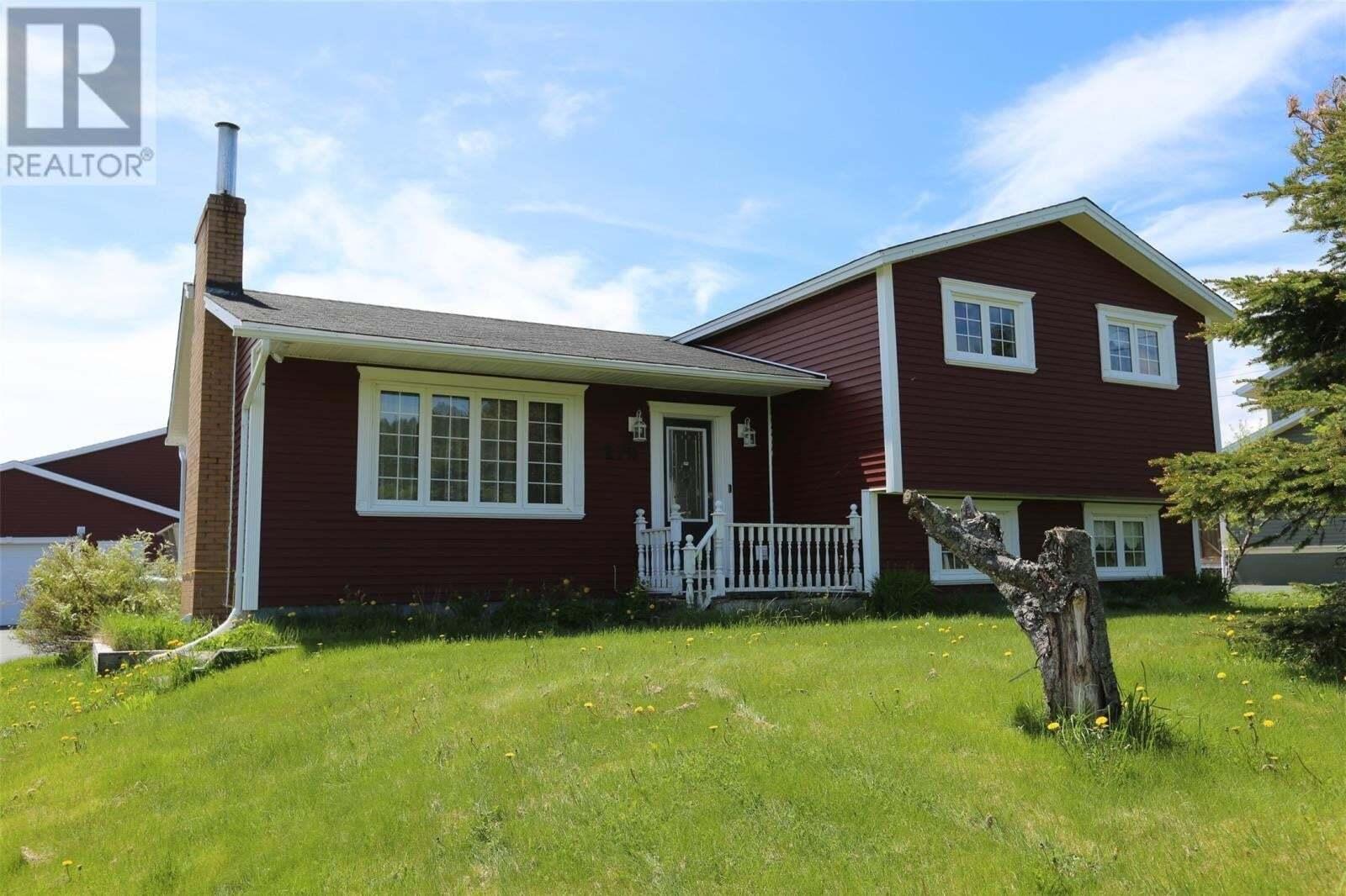 House for sale at 279 Indian Meal Line Torbay Newfoundland - MLS: 1216018