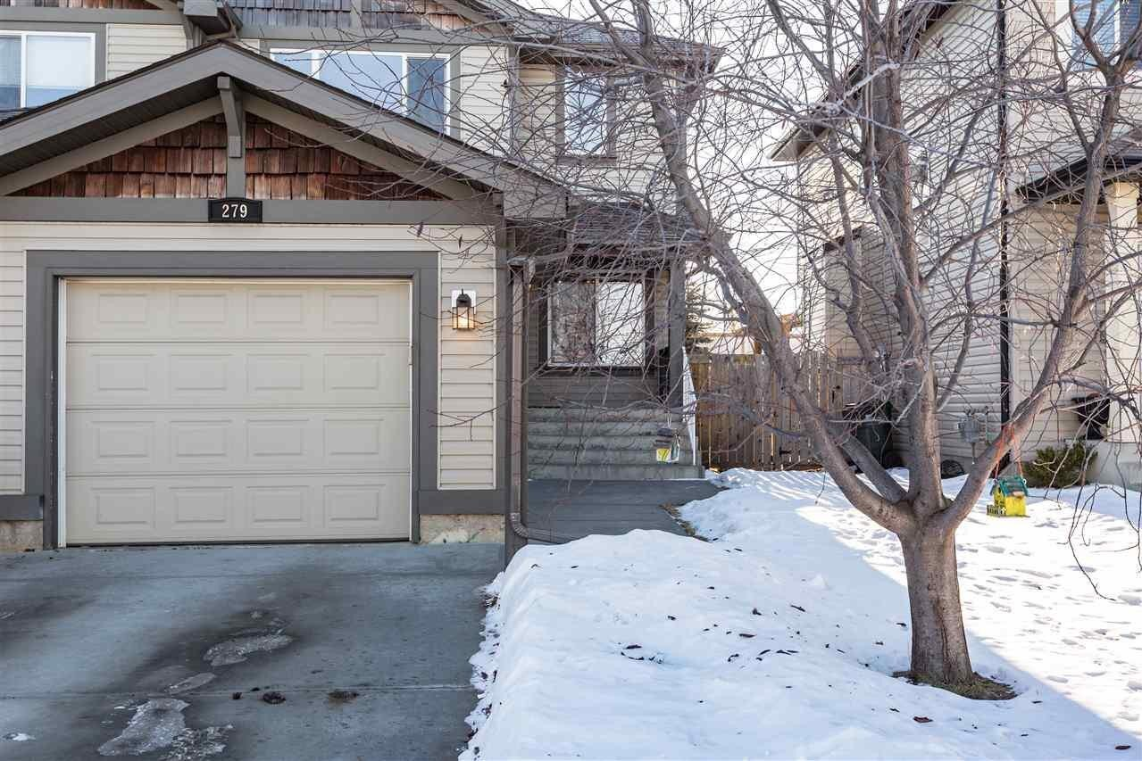 Townhouse for sale at 279 Summerton Cr Sherwood Park Alberta - MLS: E4223744
