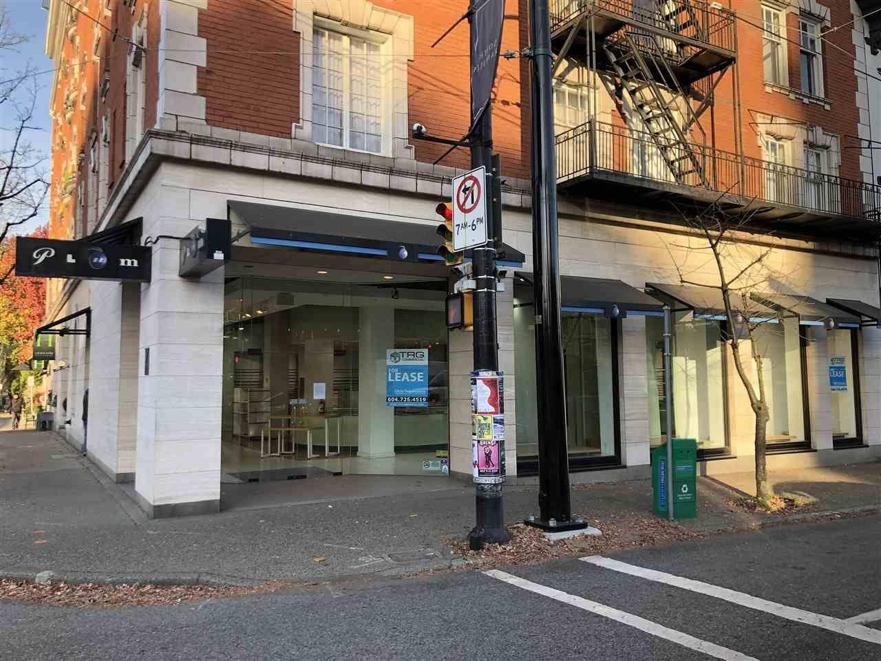 Commercial property for lease at 2799 Granville St Vancouver British Columbia - MLS: C8028780