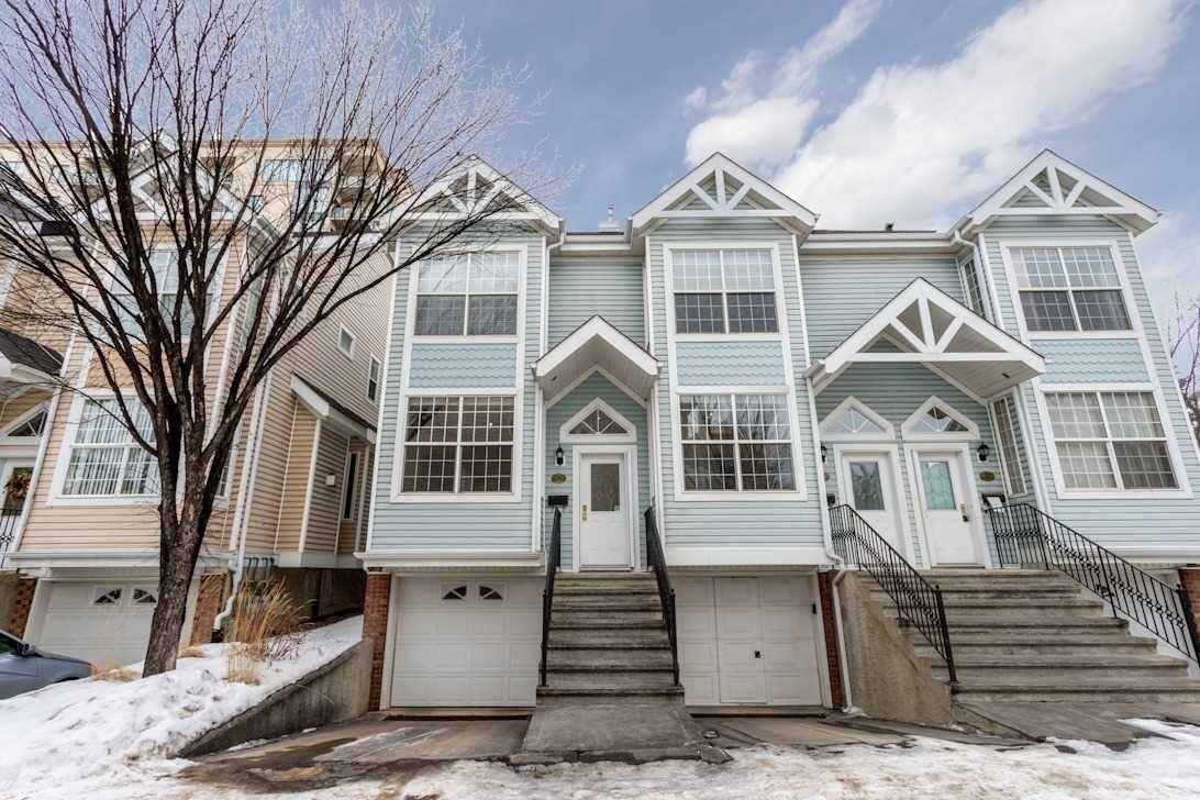Townhouse for sale at 10235 111 St Nw Unit 28 Edmonton Alberta - MLS: E4188873