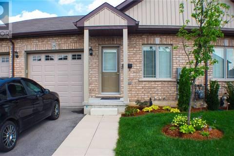 Townhouse for sale at 1038 Colborne St Unit 28 Brantford Ontario - MLS: 30729739