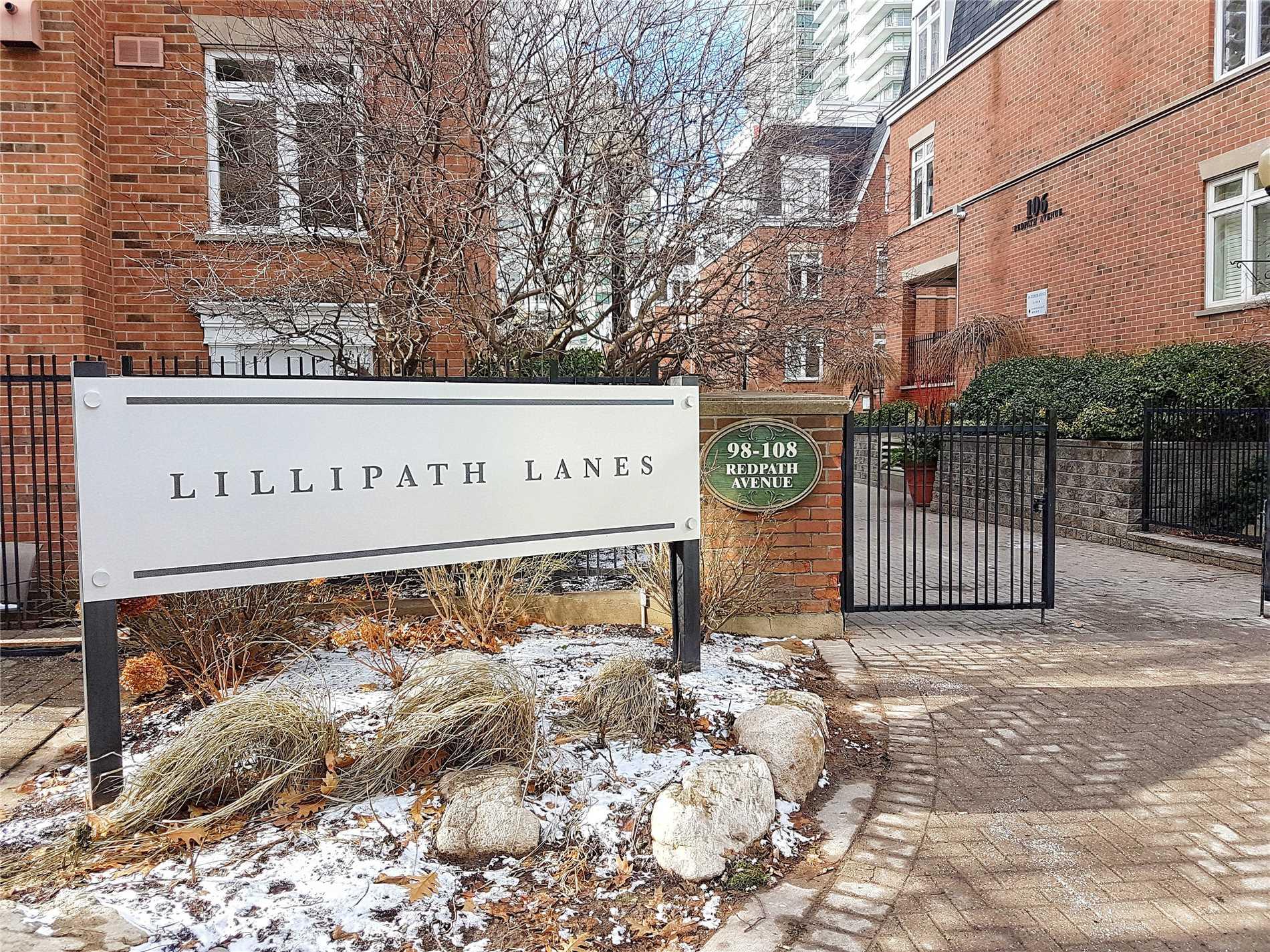 Buliding: 108 Redpath Avenue, Toronto, ON