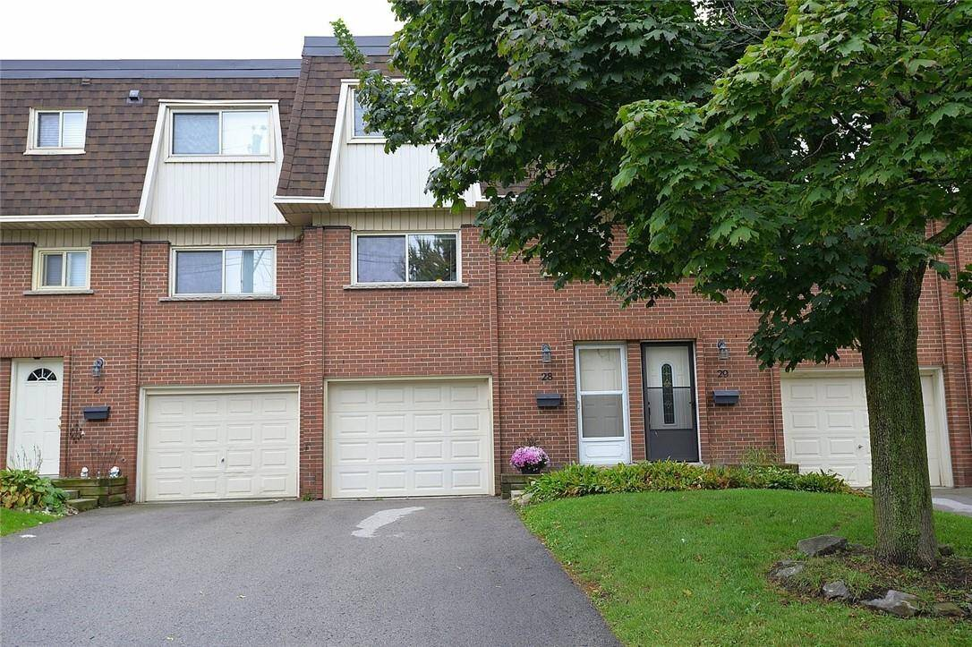 Townhouse for sale at 125 Bonaventure Dr Unit 28 Hamilton Ontario - MLS: H4065113