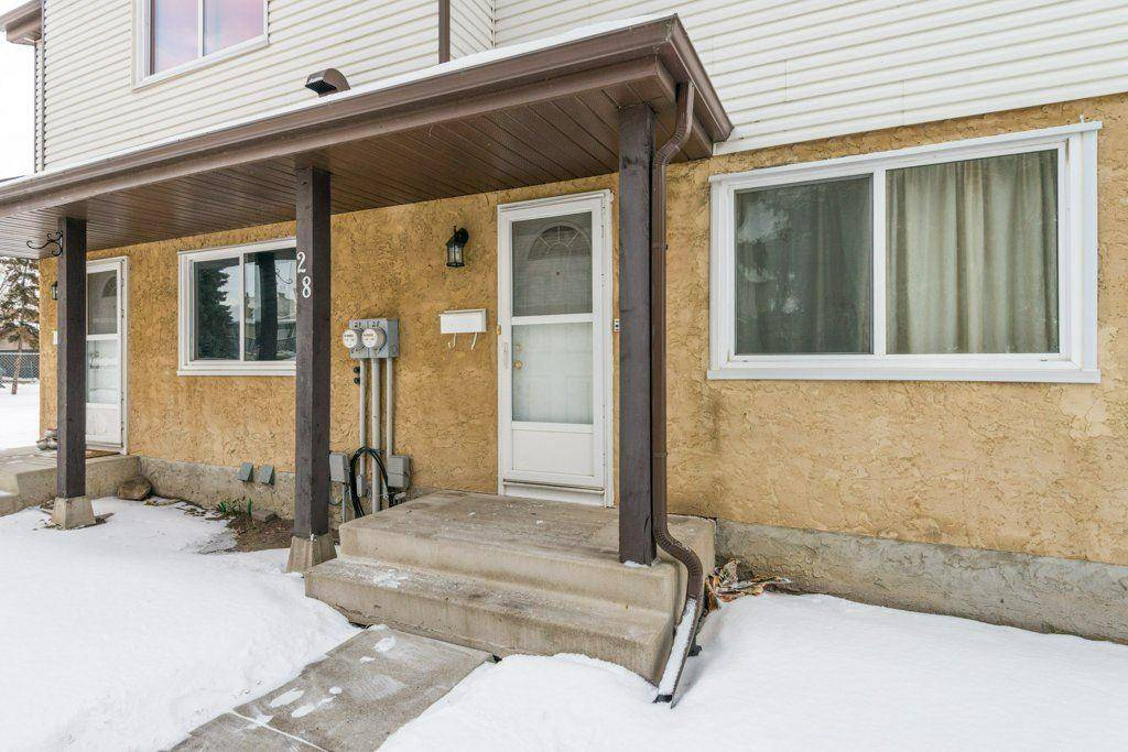 Townhouse for sale at 1411 Millwoods Rd Nw Unit 28 Edmonton Alberta - MLS: E4162722